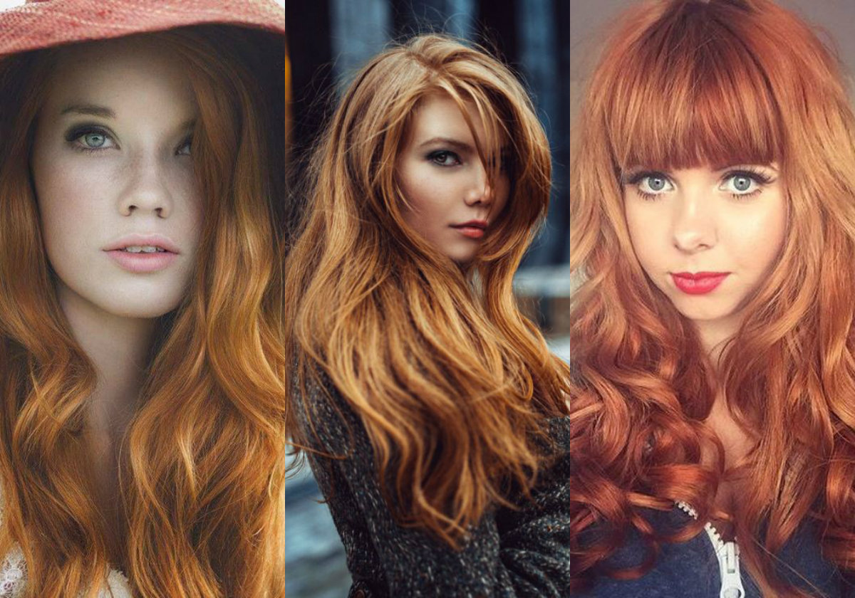 Light Auburn Hair Colors For Cold Winter Time