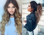 hypnotizing long brown hair