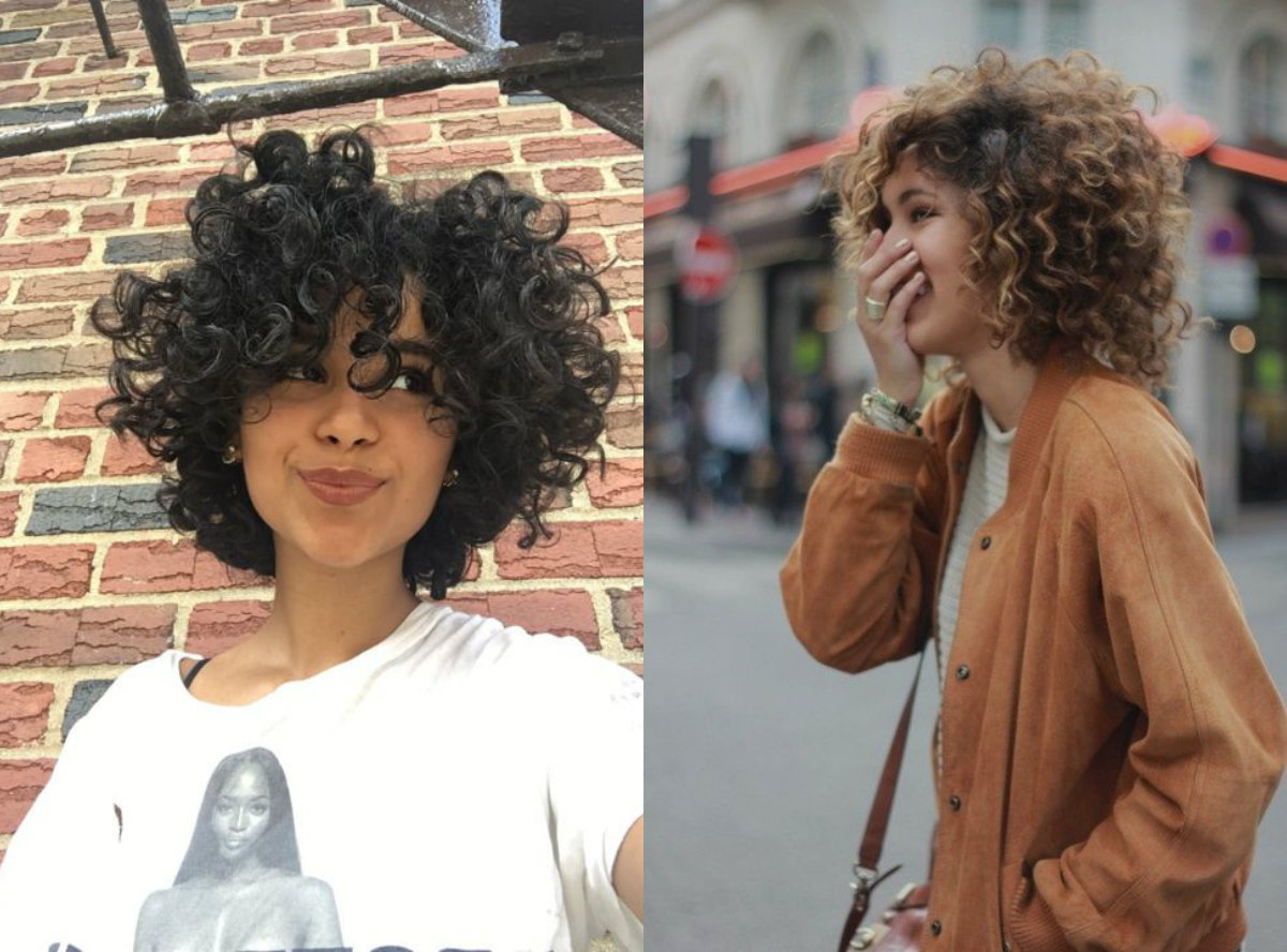 Absolutely Adorable Curly Bob Hairstyles