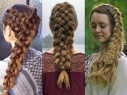 adorable 5 strand braid hairstyles