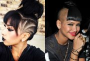 shaved head hairstyles 2016