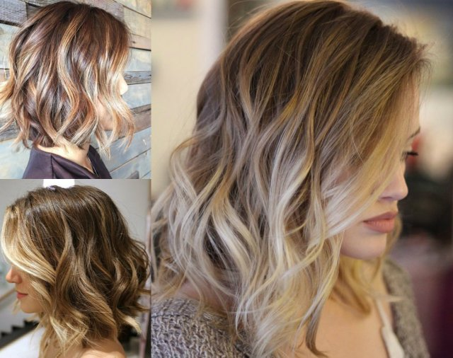 what about short hair balayage?   hairdrome
