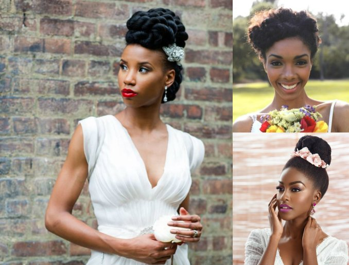 get to know natural hair wedding hairstyles 2017 | hairdrome