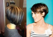 business style stacked bob hairstyles