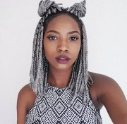 amazing short box braids hairstyles