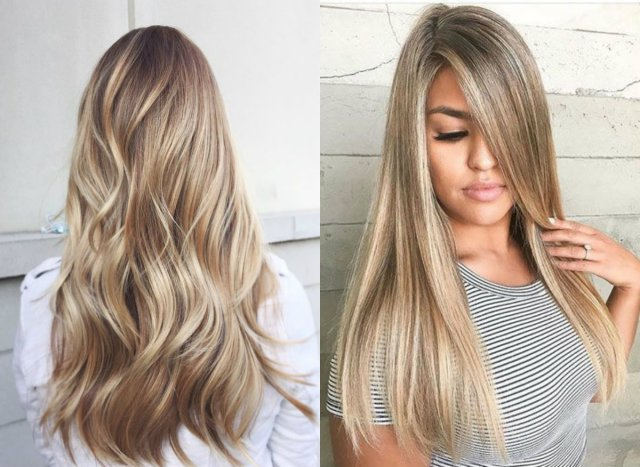 balayage blonde hair colors 2017 summer | hairdrome