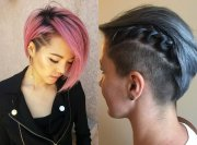 crazy undercut bob hairstyles