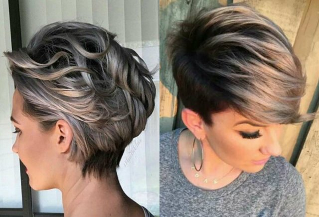 vivacious short pixie haircuts with highlights | hairdrome