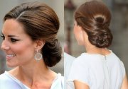 royal chic in kate middleton hairstyles