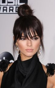 celebrity bangs hairstyles