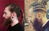 New Trends For Man Braids Hairstyles 2017