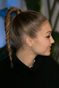 Celebrity Inspiration: Braided Ponytail Hairstyles ...