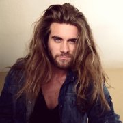sexy long hairstyles men