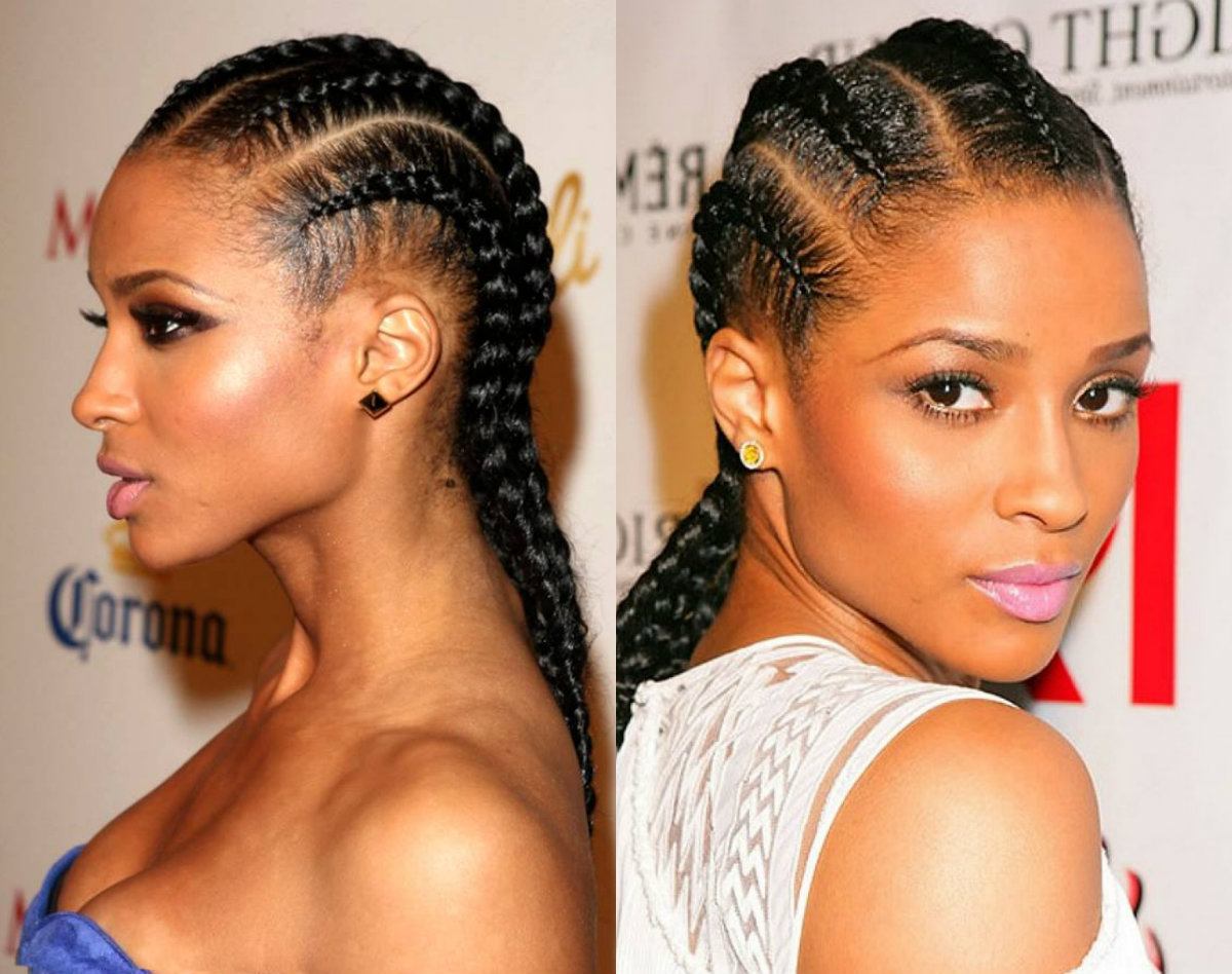 cornrows hairstyles for black women