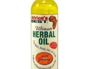 Africa's Best Ultimate Herbal Oil Revitalizes Dry Hair Scalp Skin Oil 8oz