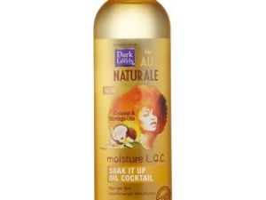 Dark And Lovely Au Naturale Moisture L.O.C. Soak It Up Oil Cocktail 122 Ml
