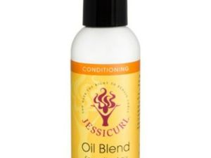 Jessicurl Oil Blend For Softer Hair 2 Oz - Citrus Lavender