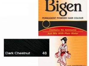 Bigen Hair Color Dark Chestnut No. 48