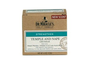 Dr. Miracle's Temple and Nape Gro Balm Super 4 oz