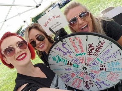 Spin to Win Slice of Shoreview Days