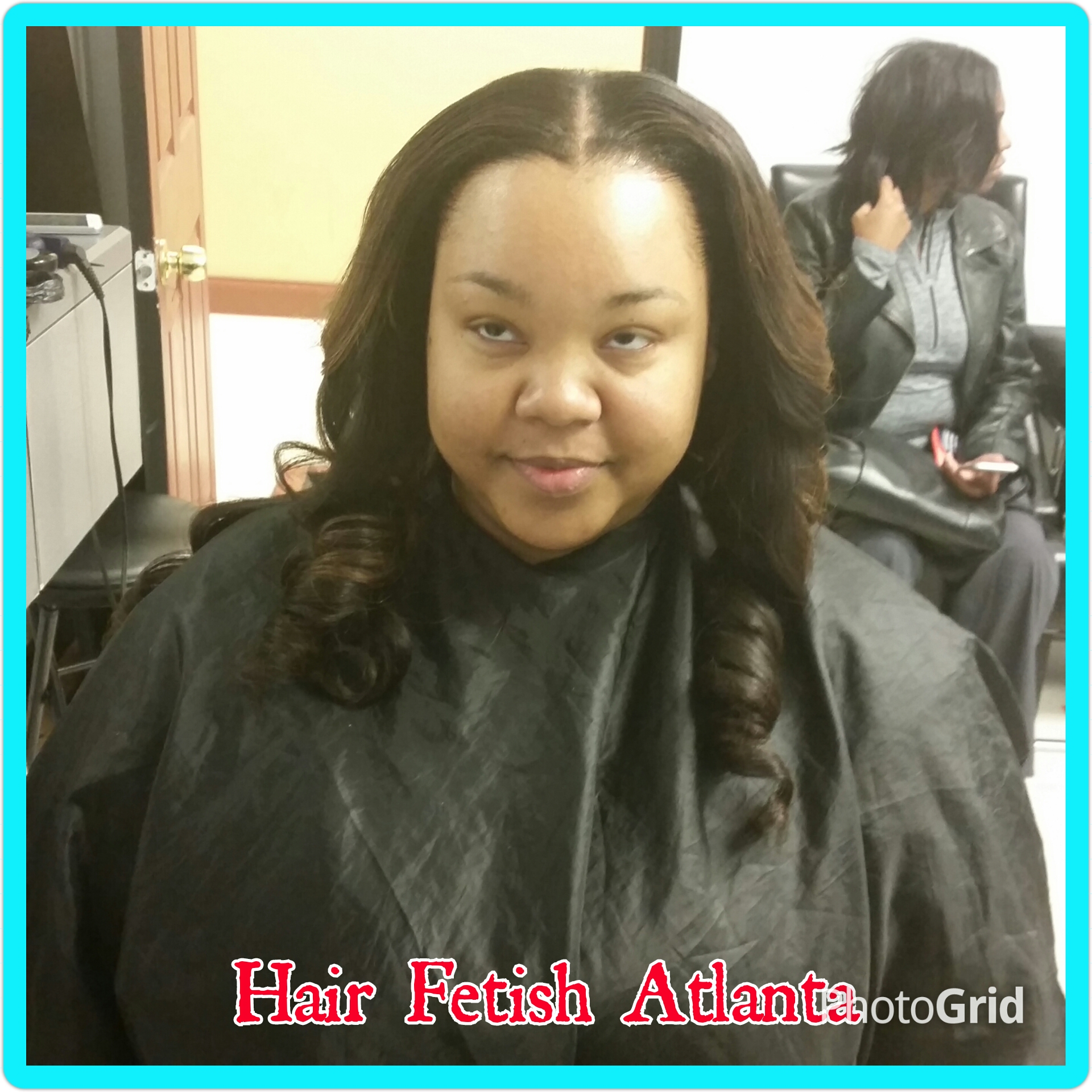 Middle Part Sew In With Ombre Hair Fetish Atlanta Salon