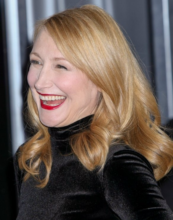 Red Makeup Face Patricia Clarkson 39;s Long Hairstyle And Reddish Blonde Hair