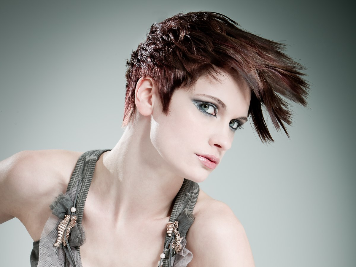 Short Hairstyles With Unusual And Comtemporary Lines