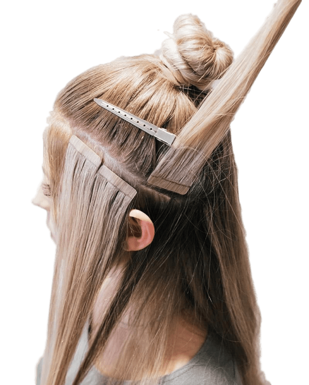 what-do-hair-extension-tape-ins-look-like