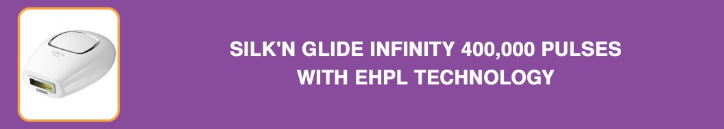 Silk'n Glide Infinity 400,000 Pulses with eHPL Technology