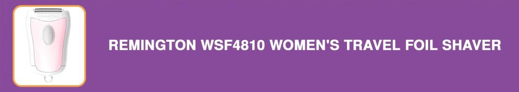 Remington WSF4810 Women's Travel Foil Shaver