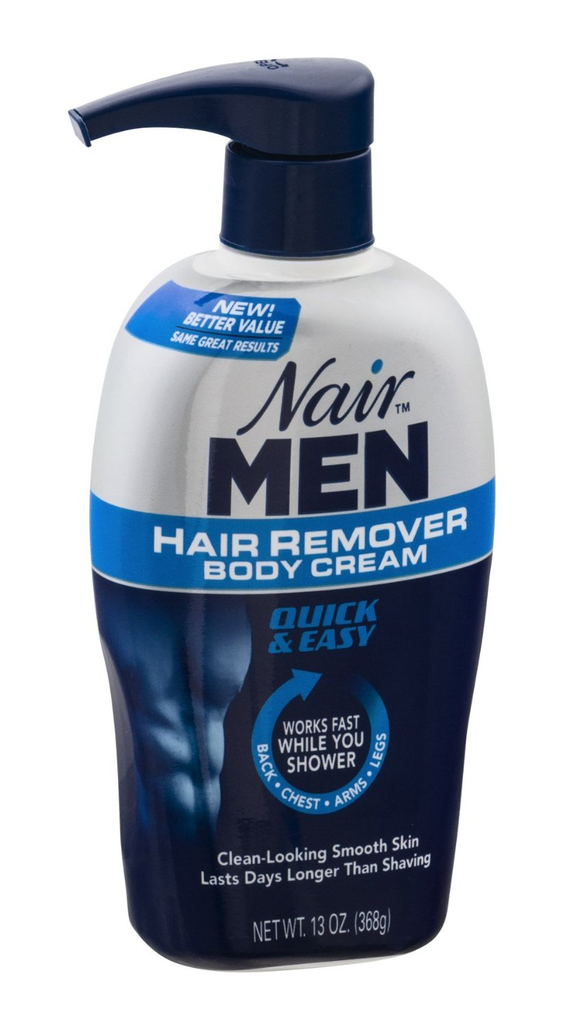 hight resolution of nair men hair remover body cream