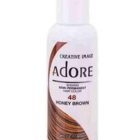 Adore Honey Brown 48 Semi-Permanent Hair Colour 4oz
