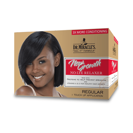 Dr Miracles Regular New Growth Relaxer Kit