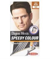 Bigen Men's Speedy Colour Dark Brown