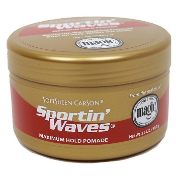 Sportin Waves Maximum Hold Pomade 3.4oz