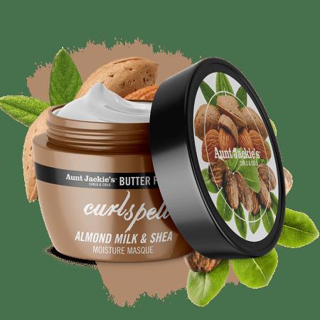 Aunt Jackies Butter Fusions Curl Spell Almond Milk & Shea Butter Moisture Masque 8oz