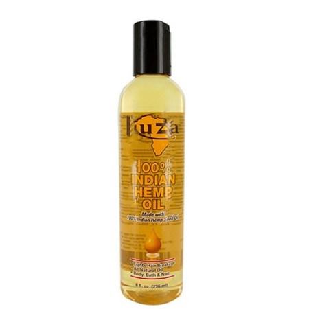 Kuza Indian Hemp Hair & Body Oil 8oz