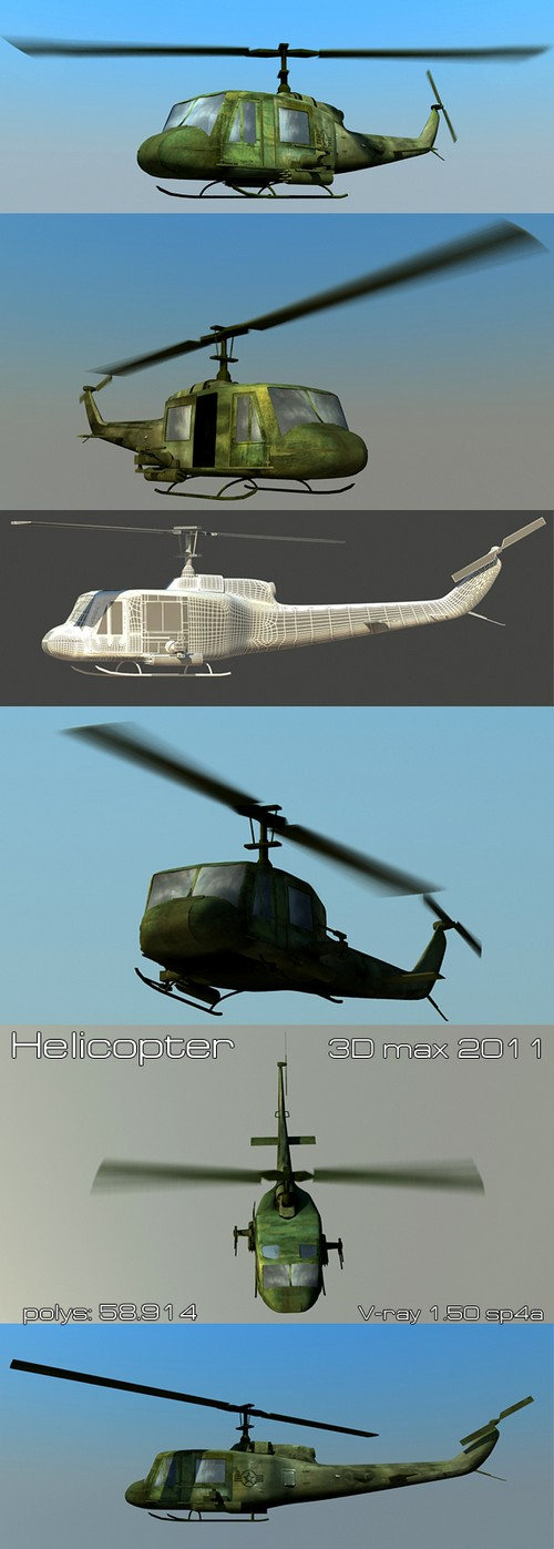 3docean: helicopter