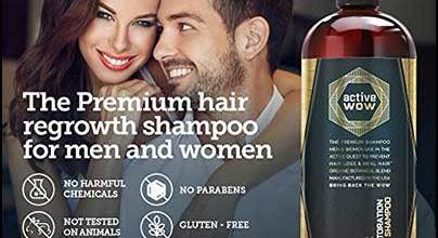 active-wow-argan-oil-organic-botanicals-anti-hair-loss-shampoo