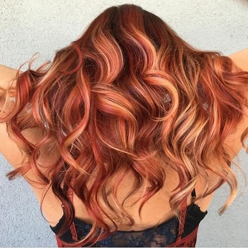 Skin Tone Hair Color Matches WarmGold Honey Caramel Copper
