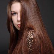 intense chestnut hair color