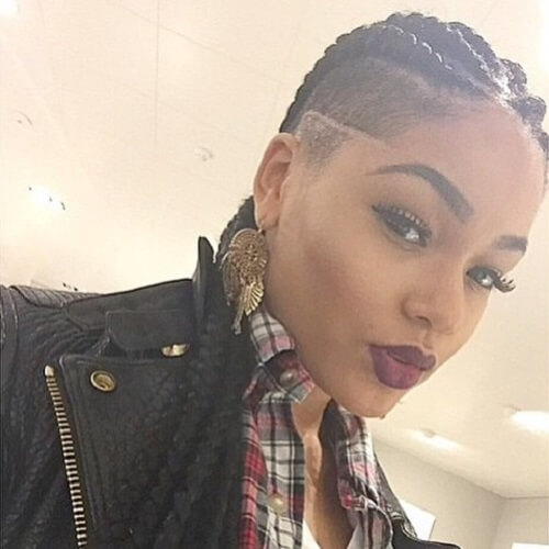 Shaved Hairstyles for Black Women 50 Wicked Cool Ways to