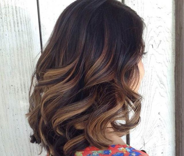 Transform Your Brown Hair With Our  Lowlights Highlights
