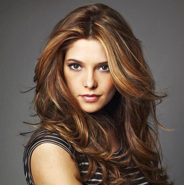 Astonishing Hairstyles For Brown Hair With Lowlights Hair