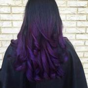 spruce purple with ombre