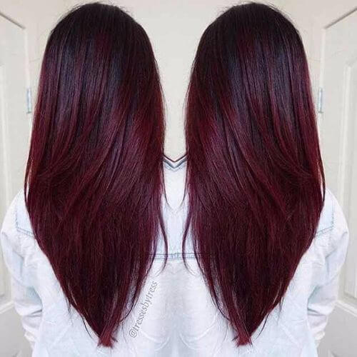 50 Vivid Burgundy Hair Color Ideas for this Fall