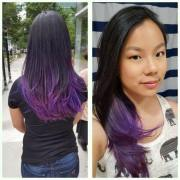 purple ombre hair ideas worth