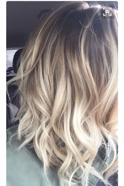 Ombre Hair Dark Light Brown
