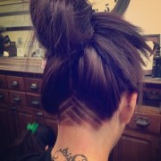chic and edgy undercut women