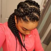 flattering goddess braids ideas